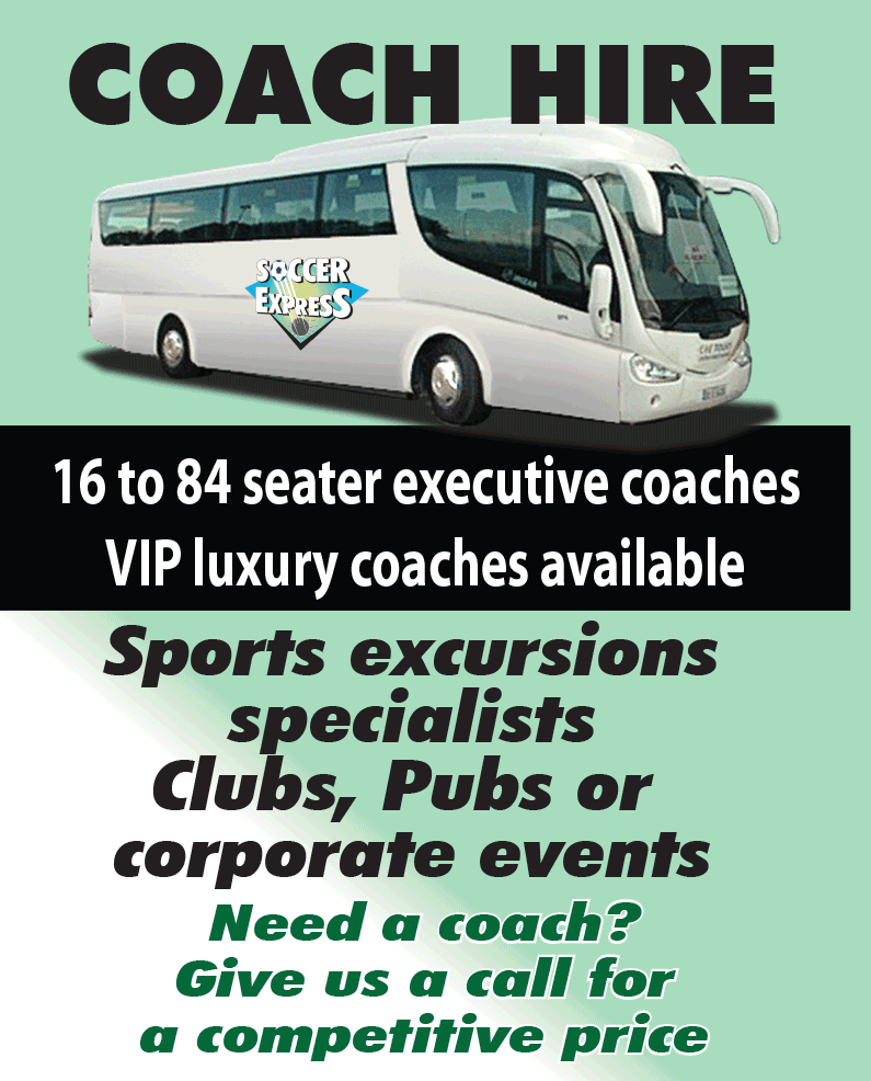 COACH HIRE. 16 to 84 seater coachesVIP luxury coaches available. Sports excursion specialists. Clubs, pubs or corporate events. Need a coach - give us a call for a competitive price.