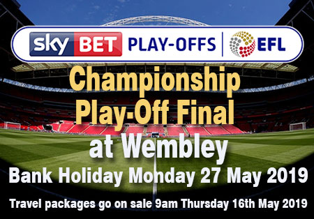 SkyBet Play-Offs EFL Championship Play-off Final at Wembley Stadium Sunday 26 May 2019